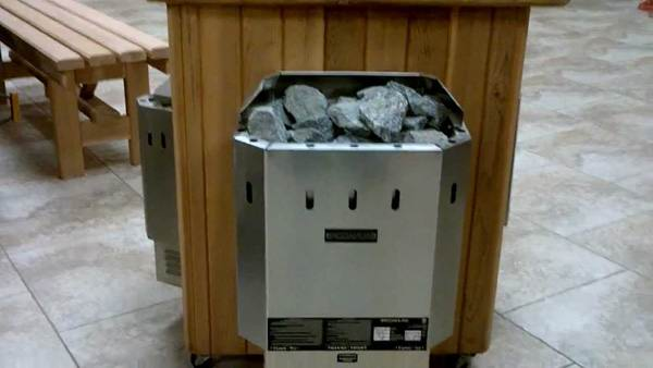 Сауна с электрическим нагревателем