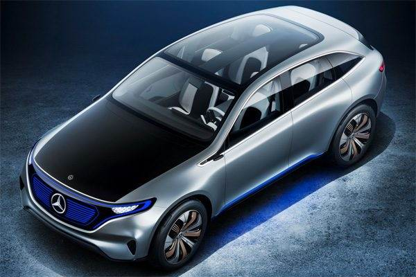 Generation EQ – стартующий проект электромобиля от Daimler
