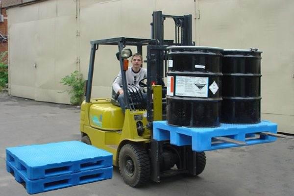Незамысловатая и актуальная механизация: грузовые поддоны