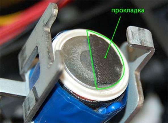 Мягкие прокладки соленоидов принтера pharser-3140