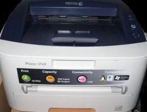 Как отремонтировать принтер Xerox Phaser 3140 своими руками