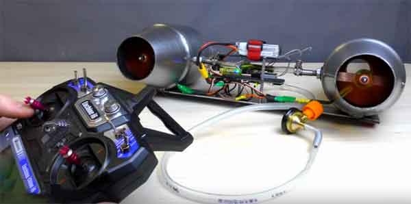 Система радиоуправления турбиной