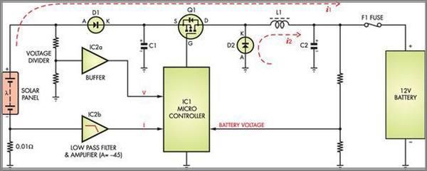 Структурная схема mppt контроллера