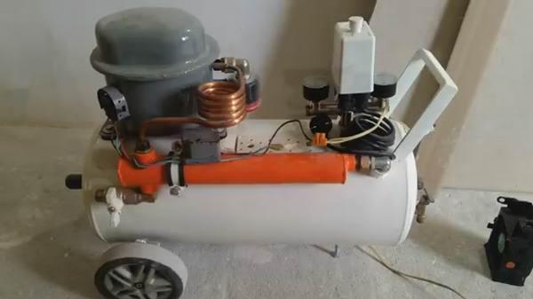 Домашний компрессор воздуха
