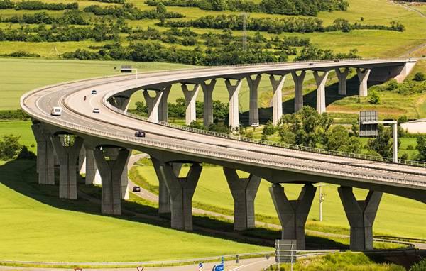 Мостовое полотно из композитов
