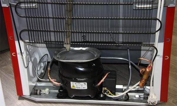 Низкопроизводительная система холодильника