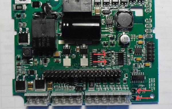 Транзисторные ключи входов