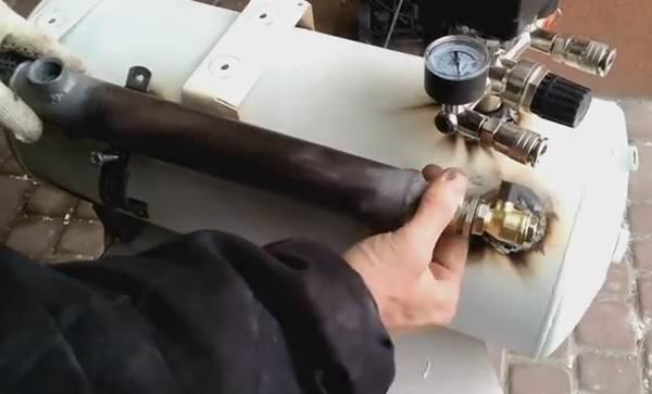 Установка маслоотделителя