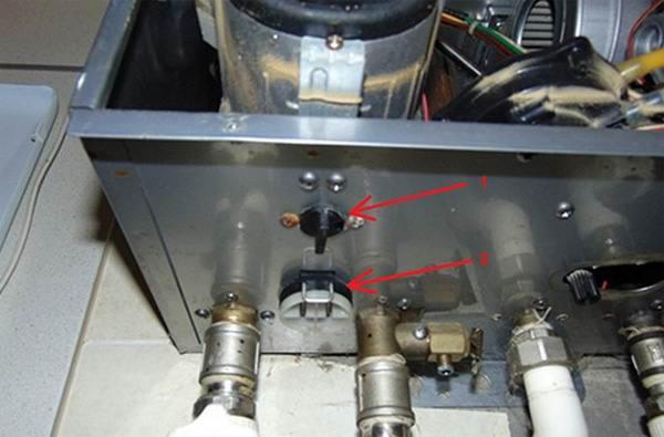 Утечка воды в газовых котлах