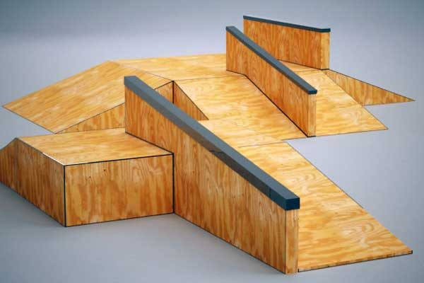 Как построить рампу пандус для скейтборда: инструкция