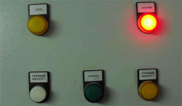 Аварийная сработка контроллера