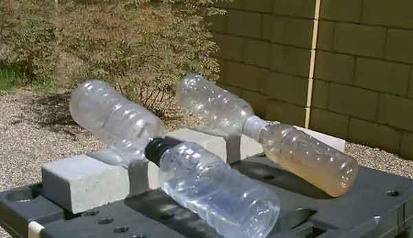 Дистиллятор из двух бутылок