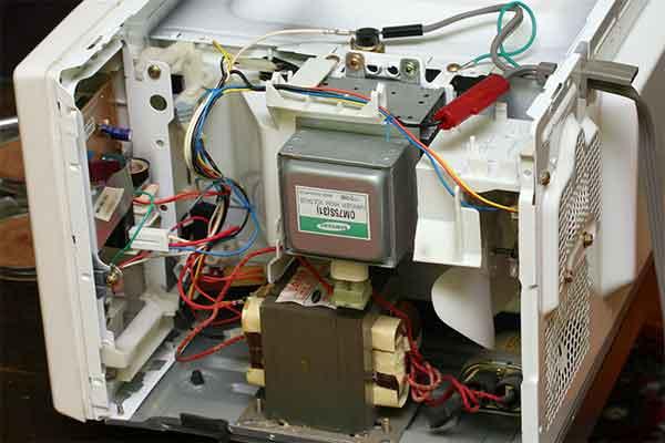 Электрика микроволновой печки