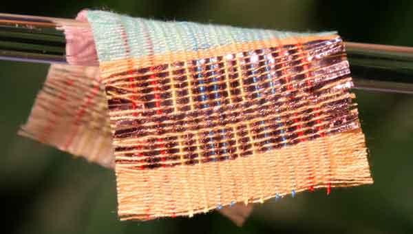 Энергетический текстиль новый материал