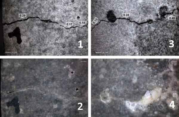 Эффект самовосстановления бетона