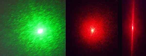Эффект спекл в лазерном свете