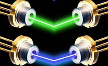Лазерные диоды или как делают мощные лазерные светильники