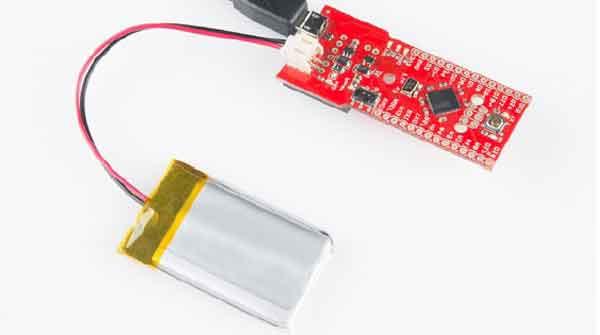 Подключение литий-полимерной батареи