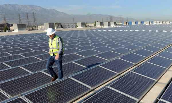 Индустриальные солнечные установки