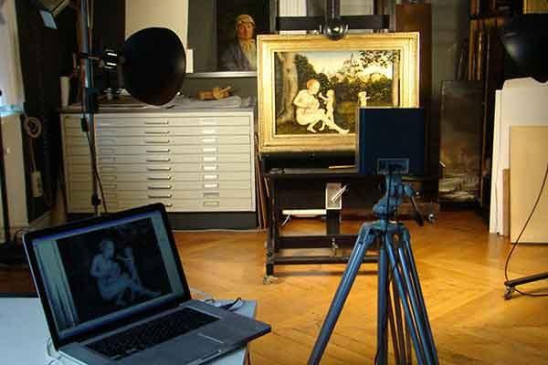 Инфракрасная рефлектография (IRR) – технология анализа картин
