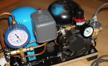 Модернизация холодильного компрессора под сжатый воздух