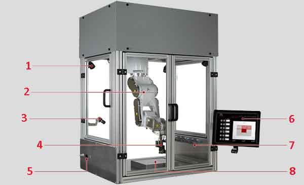 Конструкция биопринтера 3-D печати