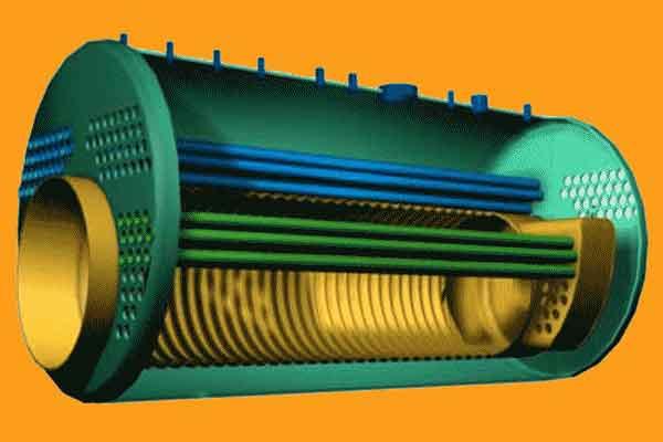 Жаротрубный теплообменник для печи Полусварной теплообменник испаритель Альфа Лаваль M10-REF Ноябрьск