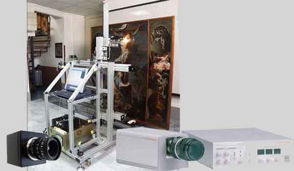 Оборудование инфракрасной рефлектографии