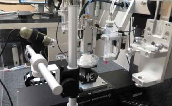 Принтер трёхмерной печати сосудов