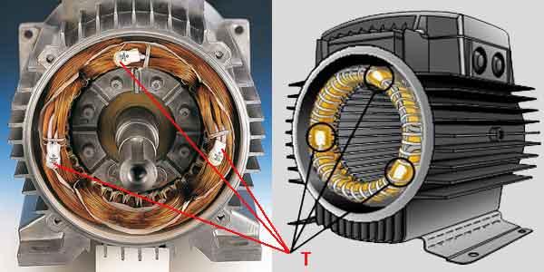 Термальная защита электродвигателя