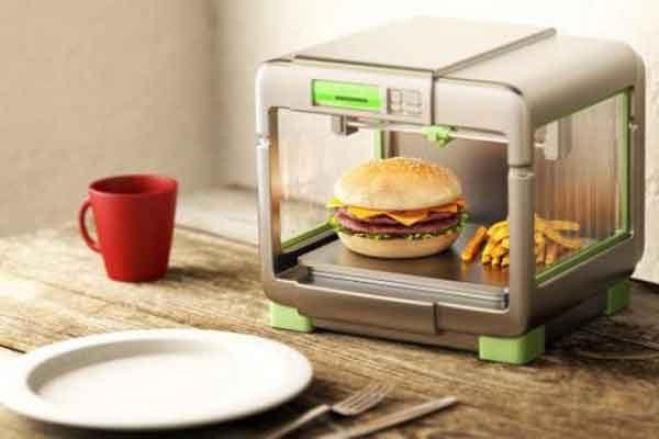 Печать еды на трёхмерном принтере уже не за горами