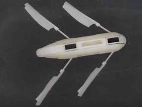 Робот на полимерном материале без электродвигателей