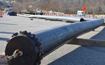 Испытание пластиковых трубопроводов давлением