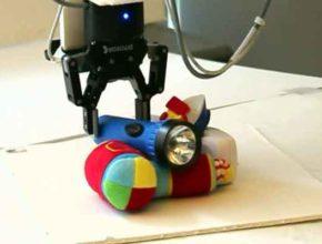 Изобретён механизм быстрого захвата для роботов
