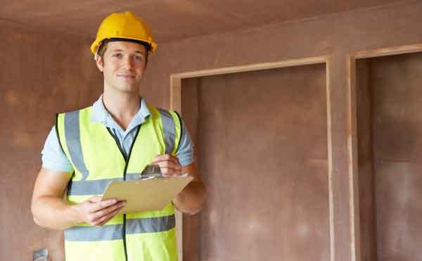 Инспекция на завершающем этапе строительства