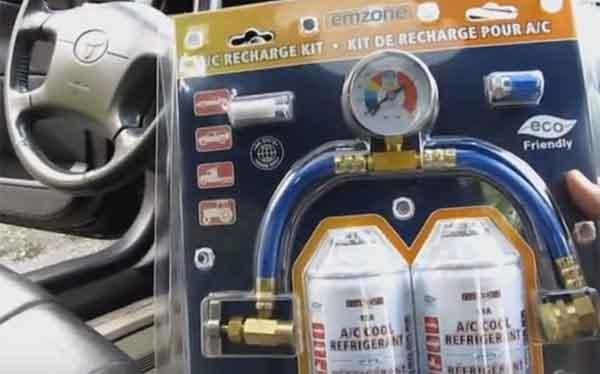 Набор заправки кондиционера авто