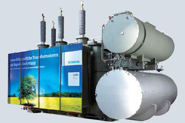 Силовой трансформатор Siemens средней мощности
