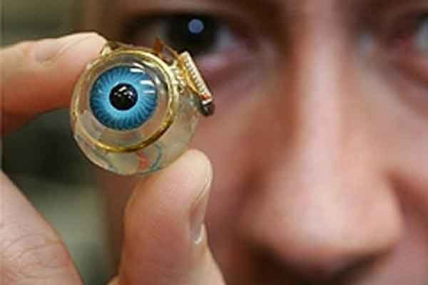 Биоэлектронный глаз методом 3D-печати