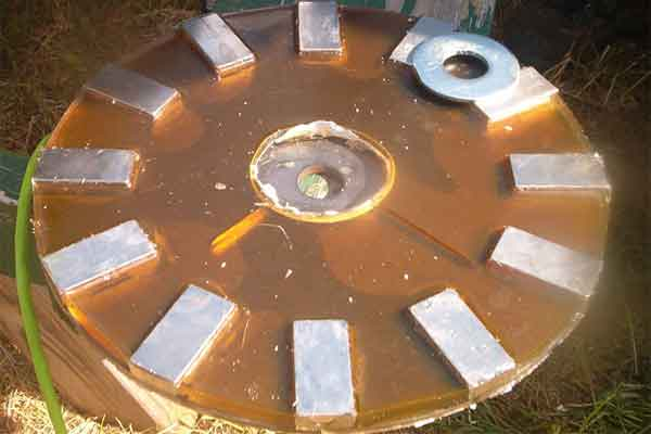 Готовый диск с магнитами