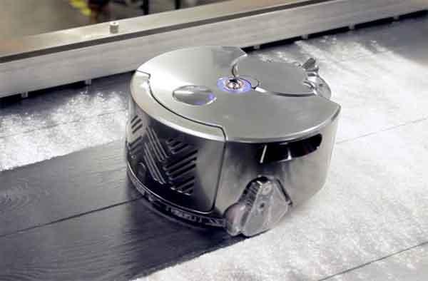 Модель робота Dyson 360 Eye