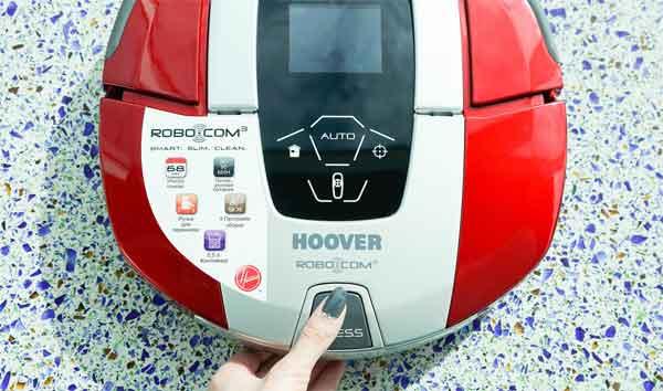 Пылесос Hoover Robo Com³