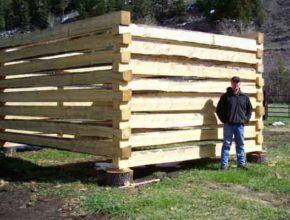 Как строят бревенчатые дома за рубежом?