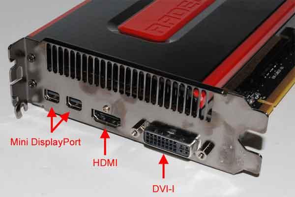 Порты современной видеокарты