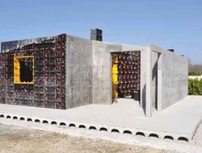 Как строят дома плитами и блоками газобетона?