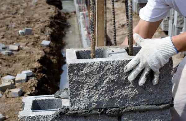 Укрепление стен газобетона