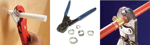 Инструмент для монтажа трубы PEX