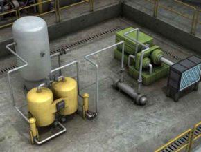 Фильтр и сепаратор масла воздушного компрессора