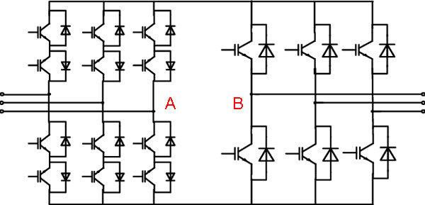 Структурная схема косвенного конвертора