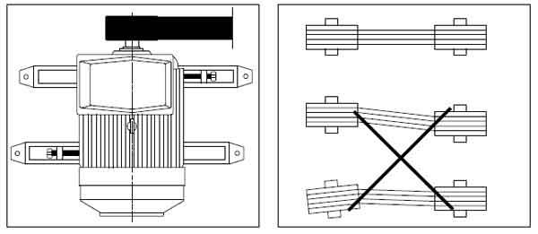 Как устанавливать моторы с ремённой передачей