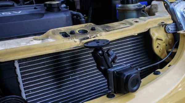 Монтаж тепловизионной камеры